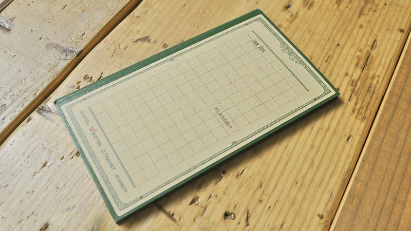 測量野帳の表紙・裏表紙に貼るスキンシール